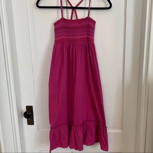Gap Kids tube top maxi dress size 8 GUC